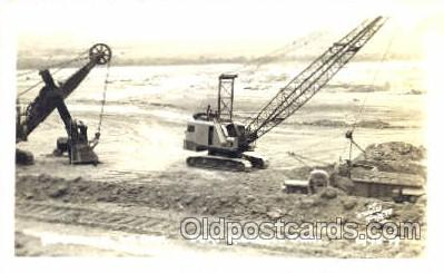 mng001019 - Pickstown, So. Dakota, USA Fort Randall Dam, Mining Postcard Postcards