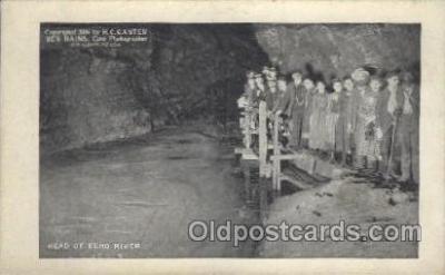 mng001076 - Head of echo river, H.C. Ganter Ben Hains, New Albany, USA Mining Postcard Postcards
