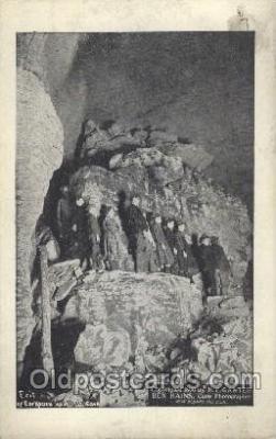mng001084 - H.C. GanterBen Hains Cave Mining Postcard Postcards