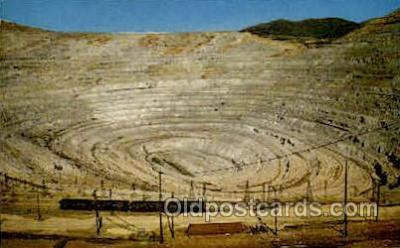 mng001107 - Bingham Copper Mine, Utah, USA Mining Postcard Postcards