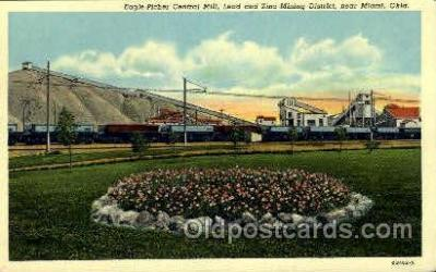 mng001125 - Eagle-picher central mill, Near Miami, Oklahoma, USA Mine, Mining, Postcard Postcards