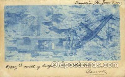 mng001138 - Mine, Mining, Postcard Postcards
