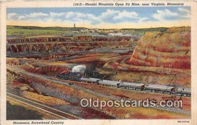 Mesabi Mountain Open Pit Mine
