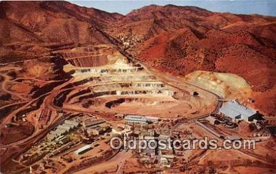 Phelps Dodge Corporation Lavender Open Pit Copper Mine