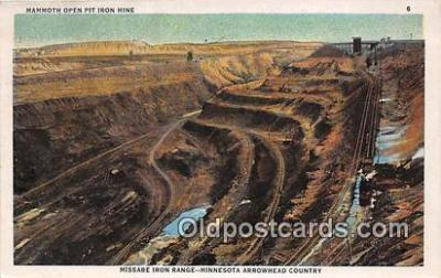 Mammoth Open Pit Iron Mine
