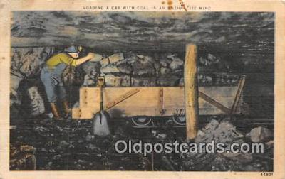 Loading Car with Coal