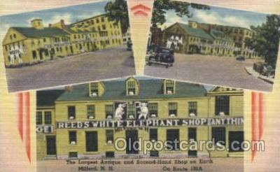 Largest Antique & Second-h& Shop, Milford. N.H.