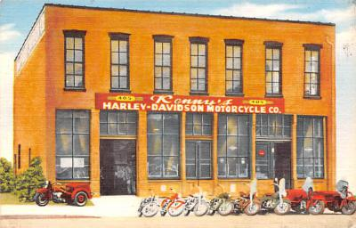 mot000006 - Kenny's Harley Davidson Motorcycle, Kansas City Mo. USA Postcard Postcards