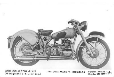 1951 348cc Mark V Douglas