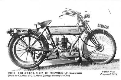 1911 Triumph 3 1/2 HP Single Speed