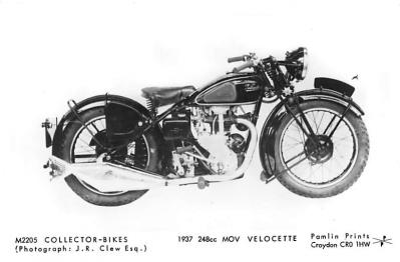 1937 248cc MOV Velocette