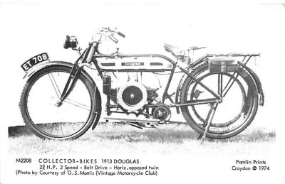 1913 Douglas 2 2/3 H.P. 2 Speed
