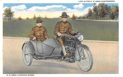 U.S. Army Dispatch Rider