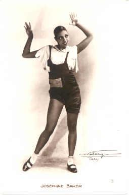 mov001031 - Josephine Baker Actor / Actress Postcard Post Card Old Vintage Antique