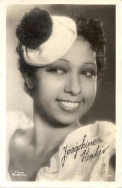 mov001033 - Josephine Baker Actor / Actress Postcard Post Card Old Vintage Antique