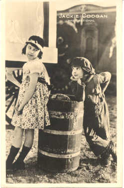 mov003018 - Jackie Coogan Actor / Actress Postcard Post Card Old Vintage Antique