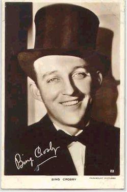 mov003037 - Bing Crosby Actor / Actress Postcard Post Card Old Vintage Antique