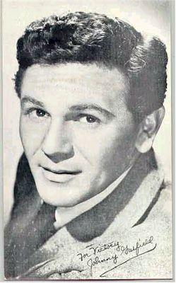mov007014 - John Garfield Actor / Actress Postcard Post Card Old Vintage Antique Movie Star