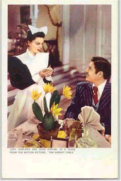 mov007020 - Judy Garland Actor / Actress Postcard Post Card Old Vintage Antique Movie Star