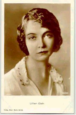 mov007043 - Lillian Gish Actor / Actress Postcard Post Card Old Vintage Antique Movie Star