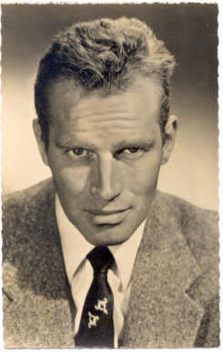 mov008039 - Charlton Heston Actor / Actress Postcard Post Card Old Vintage Antique Movie Star