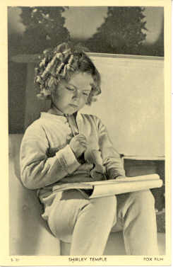 mov018042 - Shirley Temple Actor / Actress Postcard Post Card Old Vintage Antique Movie Star