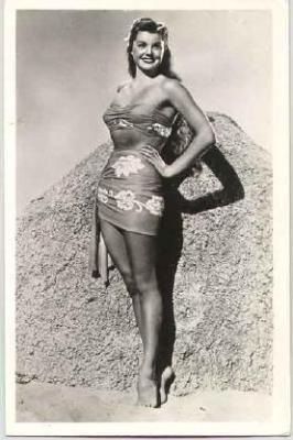mov020013 - Ester Williams Actor / Actress Postcard Post Card Old Vintage Antique Movie Star