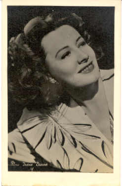 mov310001 - Irene Dunne Actor / Actress Postcard Post Card Old Vintage Antique Movie Star