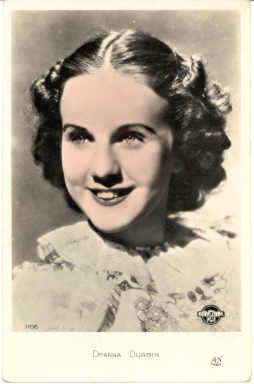 mov320001 - Deanna Durbin Actor / Actress Postcard Post Card Old Vintage Antique Movie Star