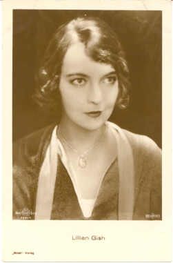 mov420013 - Lillian Gish Actor / Actress Postcard Post Card Old Vintage Antique Movie Star