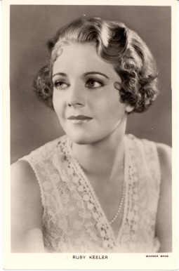 mov540003 - Ruby Keeler Actor / Actress Postcard Post Card Old Vintage Antique Movie Star