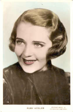 mov540004 - Ruby Keeler Actor / Actress Postcard Post Card Old Vintage Antique Movie Star