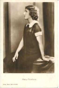 mov740006 - Mary Pickford Actor / Actress Postcard Post Card Old Vintage Antique Movie Star