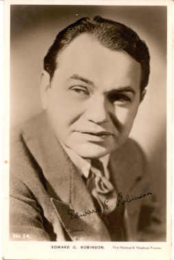 mov785001 - Edward G. Robinson Actor / Actress Postcard Post Card Old Vintage Antique Movie Star
