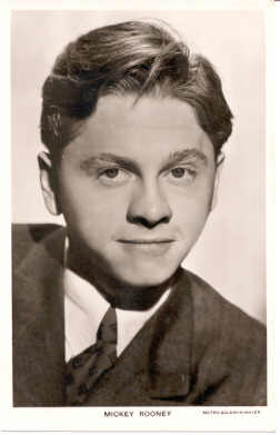 mov815002 - Mickey Rooney Actor / Actress Postcard Post Card Old Vintage Antique Movie Star
