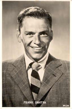 mov855002 - Frank Sinatra Actor / Actress Postcard Post Card Old Vintage Antique Movie Star
