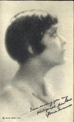 mov880016 - Gloria Swanson Actor / Actress Postcard Post Card Old Vintage Antique Movie Star