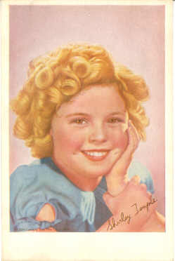 mov895002 - Shirley Temple Actor / Actress Postcard Post Card Old Vintage Antique Movie Star