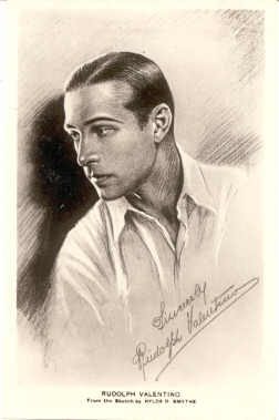 mov925002 - Rudolph Valentino Actor / Actress Postcard Post Card Old Vintage Antique Movie Star