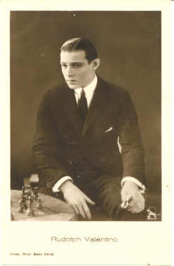 mov925007 - Rudolph Valentino Actor / Actress Postcard Post Card Old Vintage Antique Movie Star