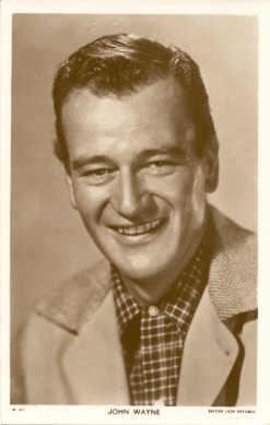 mov935005 - John Wayne Actor / Actress Postcard Post Card Old Vintage Antique Movie Star