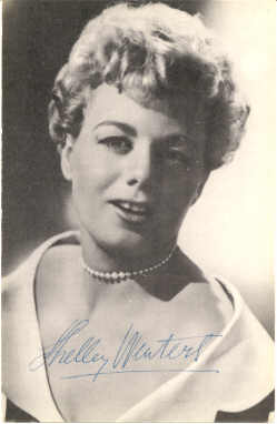 mov965001 - Shelley Winters Actor / Actress Postcard Post Card Old Vintage Antique Movie Star