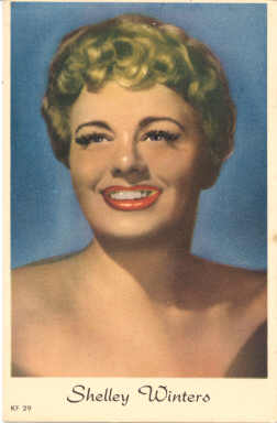 mov965002 - Shelley Winters Actor / Actress Postcard Post Card Old Vintage Antique Movie Star