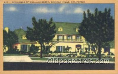 Wallace Beery, Beverly Hills, CA, USA