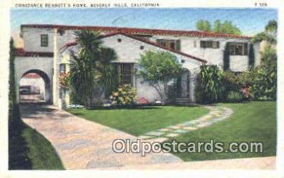 Constance Bennett, Beverly hills, CA, USA