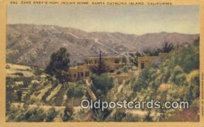 Zane Grays, Santa Catalina Island, CA