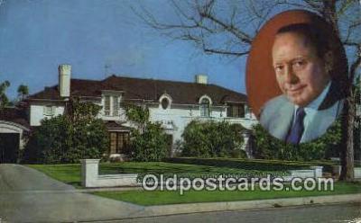 Jack Benny, Beverly Hills, CA, USA