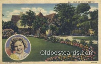 msh001145 - Shirley Temple Movie Star, Actor / Actress, Post Card Postcard