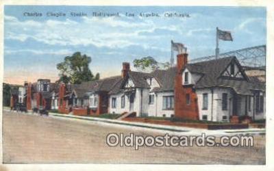 msh001148 - Charlie Chaplin Studio, Los Angeles, CA Movie Star, Actor / Actress, Post Card Postcard
