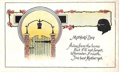 mth000001 - Mothers Day Old Vintage Postcard Post Card